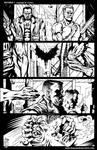 BATMAN -pag1 - Alex Borroni by Rockomics