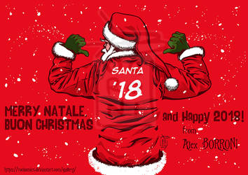 CHRISTMAS 2017 - Alex Borroni by Rockomics
