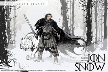 JON SNOW - Alex Borroni