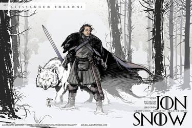 JON SNOW - Alex Borroni by Rockomics