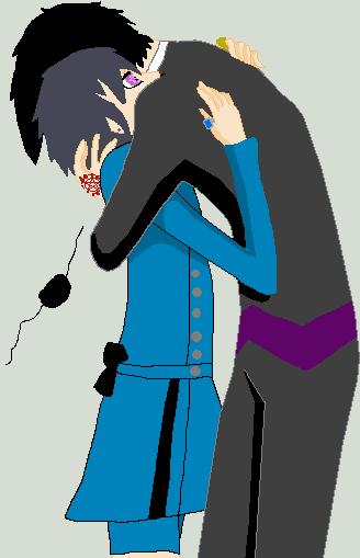 Sebastian X Ciel huggle by FaNg-LuVer