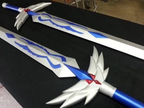 Erza's Swords