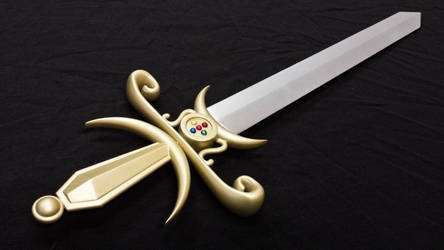 Sword of the Silver Crystal from Sailor Moon
