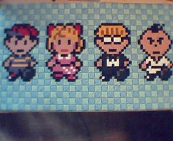 Earthbound Stiched by Demon-Hub