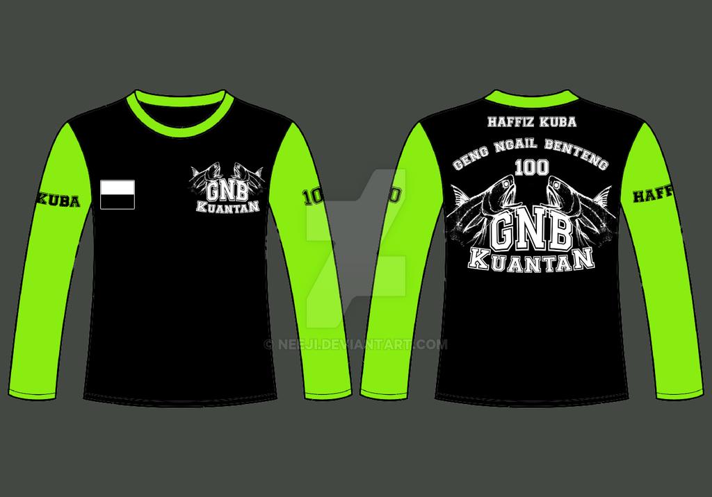 T shirt design long sleeve by neeji on deviantart for Long sleeve t shirts design