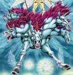 Devilman Lady (manga) - Michael's Battle Steed