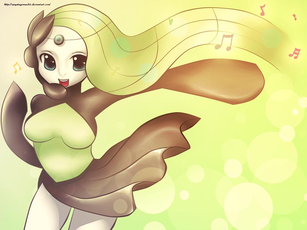 Pokemon #648 - Meloetta (Aria Form) by anyatagomachii on ...