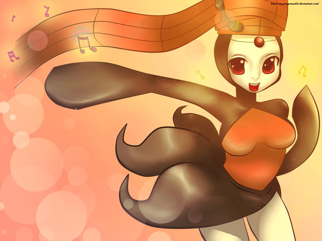 Pokemon #648 - Meloetta (Pirouette Form) by anyatagomachii ...