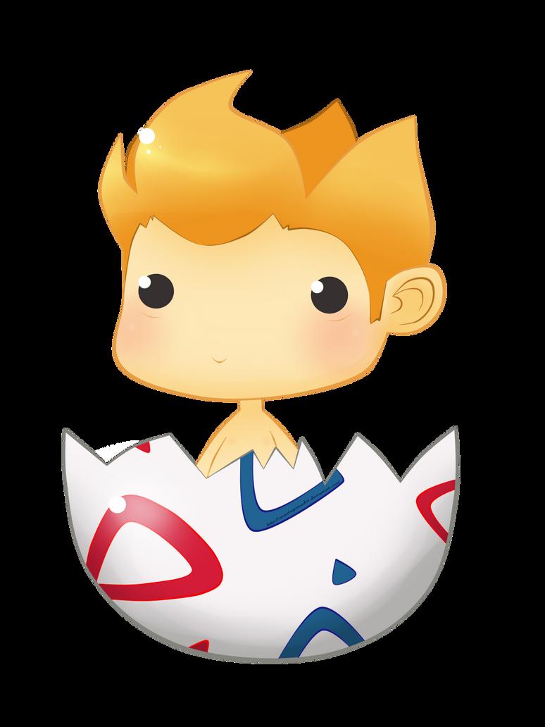 Chibi Pokemon #175 - Togepi by anyatagomachii
