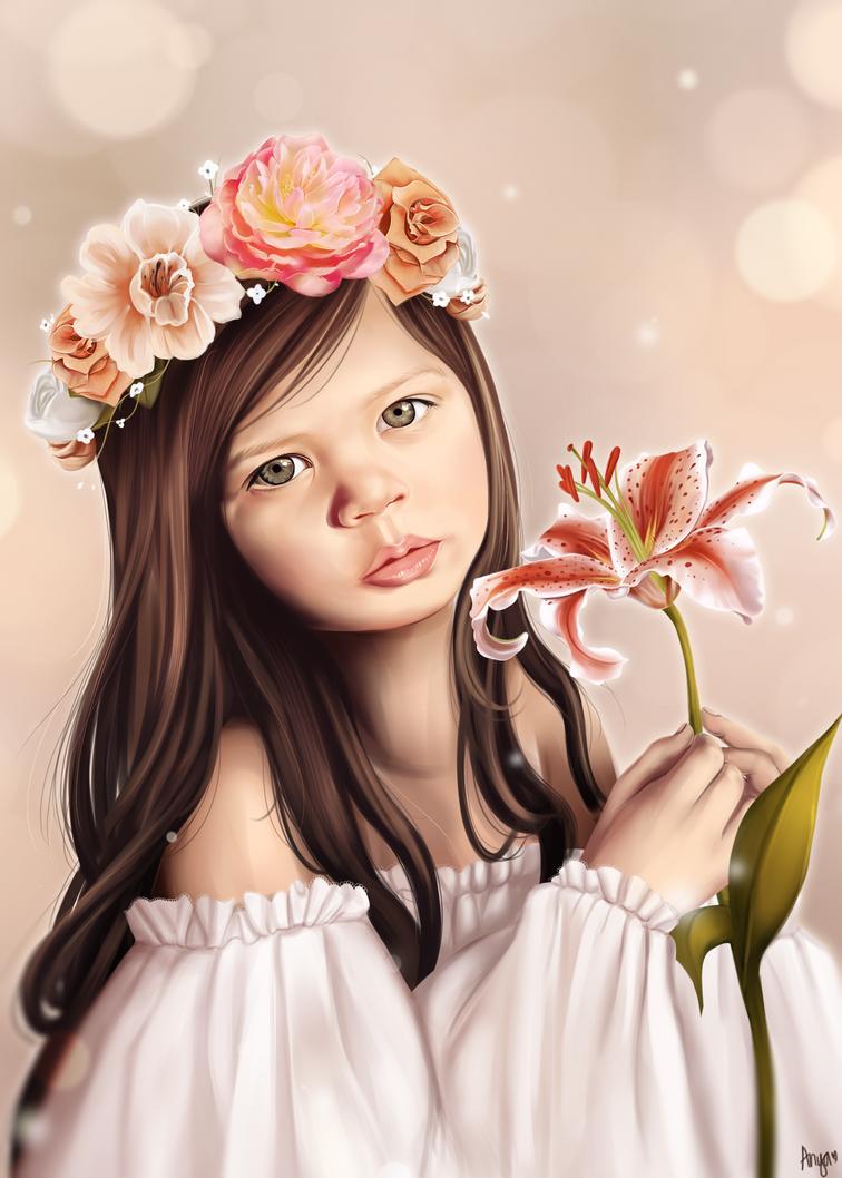 Amelia by anyatagomachii