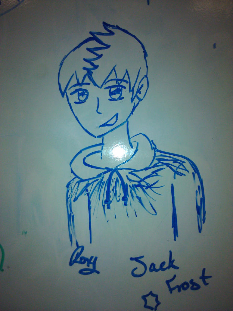 Jack frost whiteboard marker drawing by pontiac1968 on for Easy whiteboard drawings