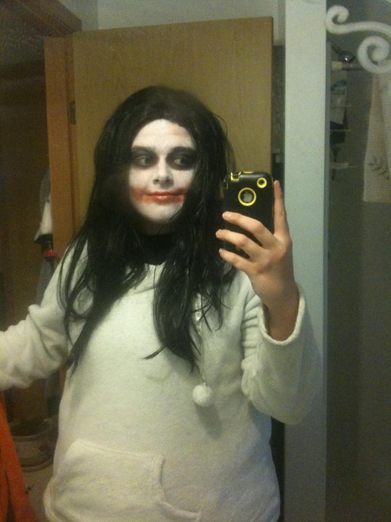 Jeff The Killer Halloween Makeup