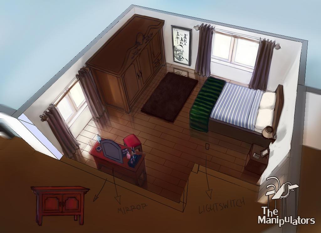 Bedroom concept art by vatsel on deviantart for Bedroom concepts