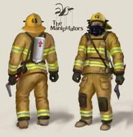 Firefighter Concept Art