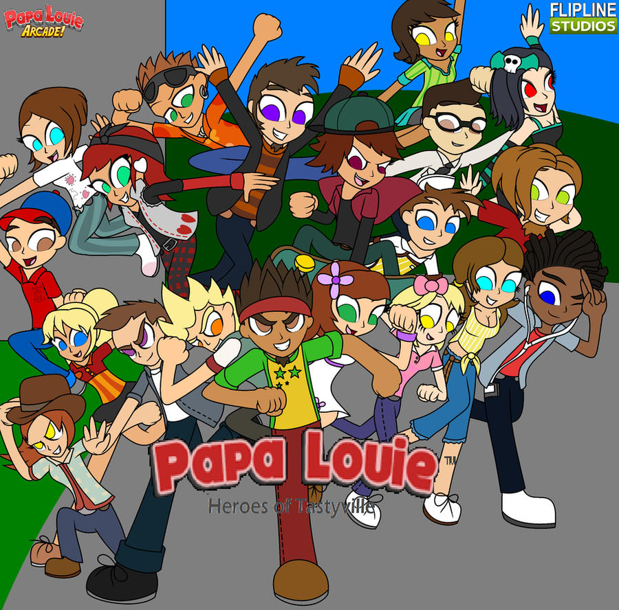 www papa louie games