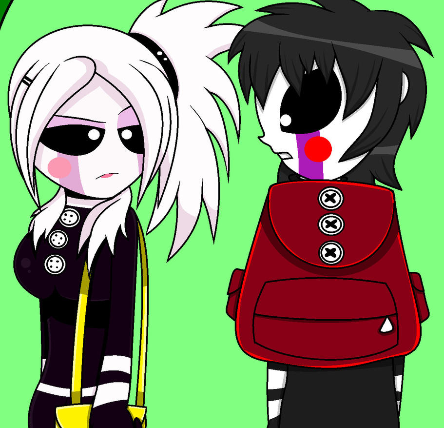 EG Marionette Meets FNIA Marionette By Enderboy1908 On