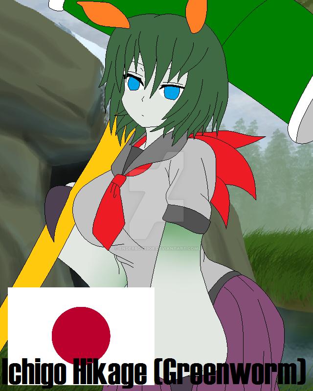 Ichigo the Greenworm by Enderboy1908