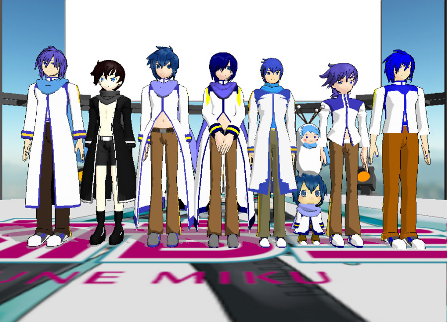 Kaito MMD Model Project by SteelDollS 12-2015 (#1) by