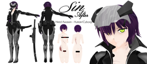 OC Reference: Shina .: Sin After :.