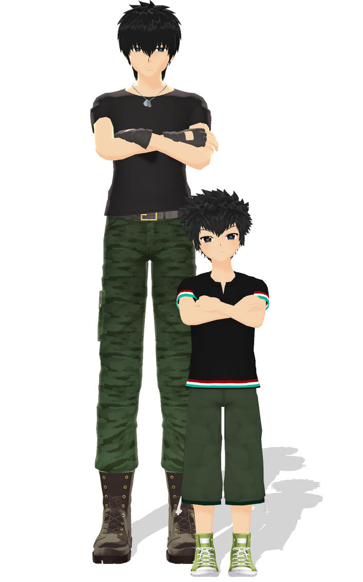 I'm bad at making child models by kaahgome
