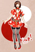 Pinup by froggy-chan