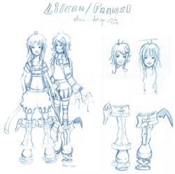Faanel et Lileen by froggy-chan