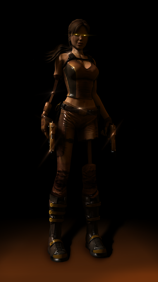 Steampunk Robot Lara  V1 by Christian-Croft