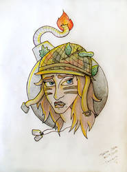Tyasha's war by plooshkin