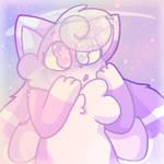 Lavender in Pastel Space