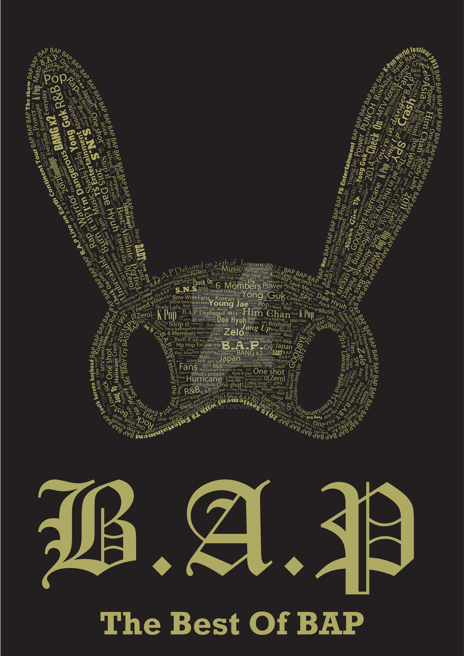 bap 1004 album cover-#16