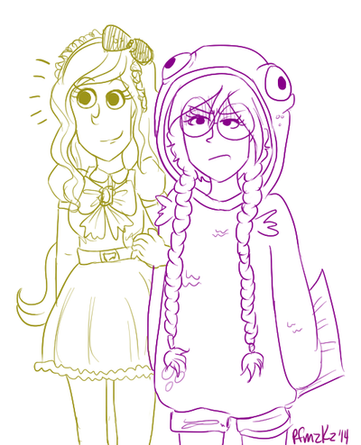 sonia shows fukawa wearing a salmon suit by cpcart