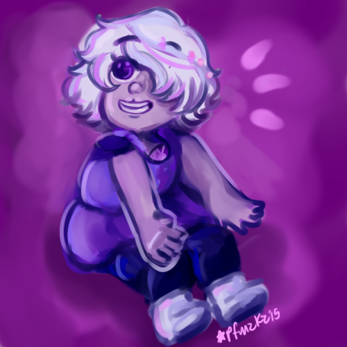 tiny baby amethyst by cpcart