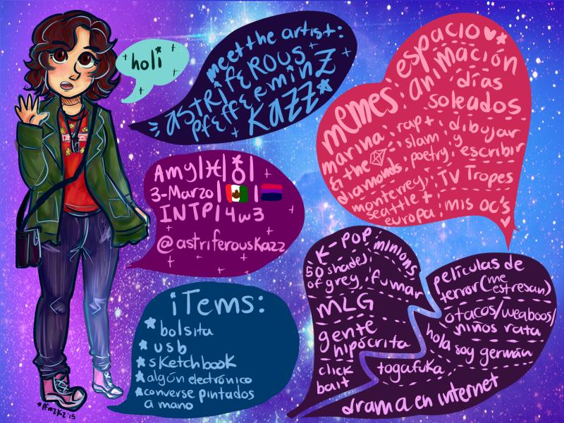 meet the artist:astriferous meme edition(spanish) by cpcart
