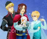 Commission - Frozen Hetalia!