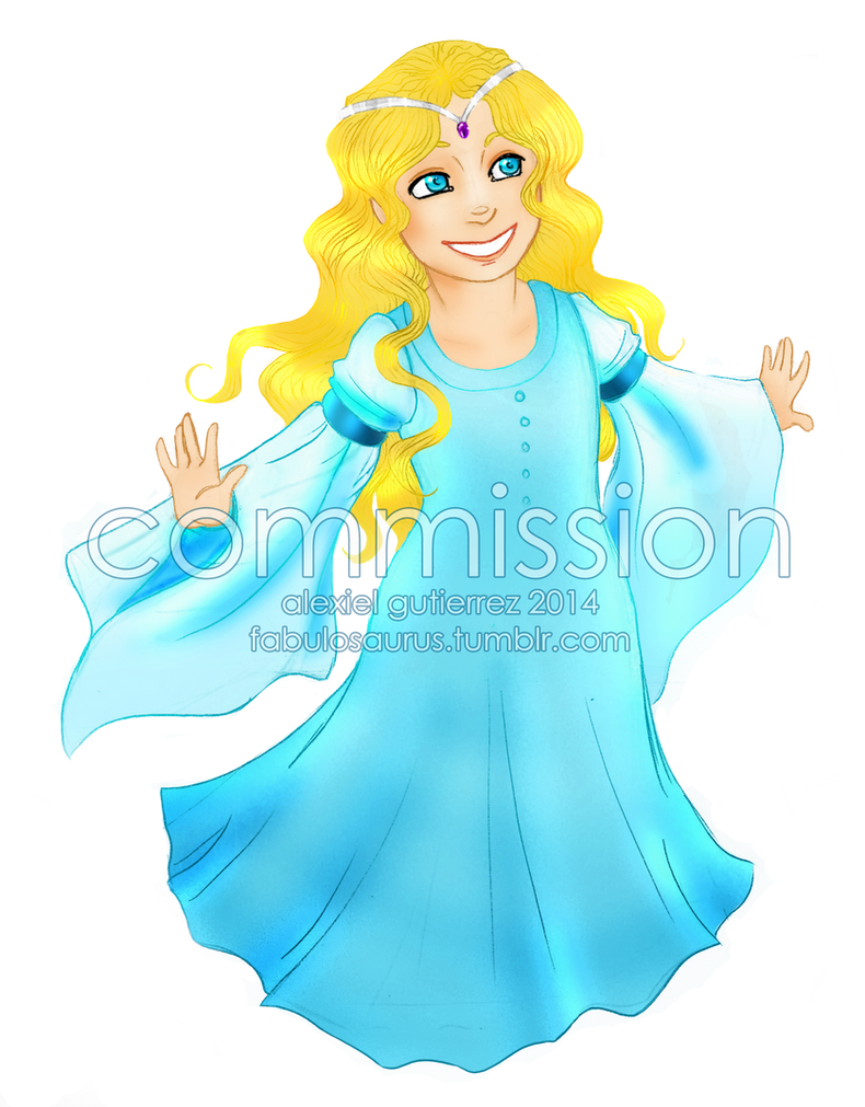 Commission - Princess Alena by Alexiel-VIII