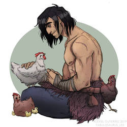 The Arcana - Chickens are Decent People by Alexiel-VIII