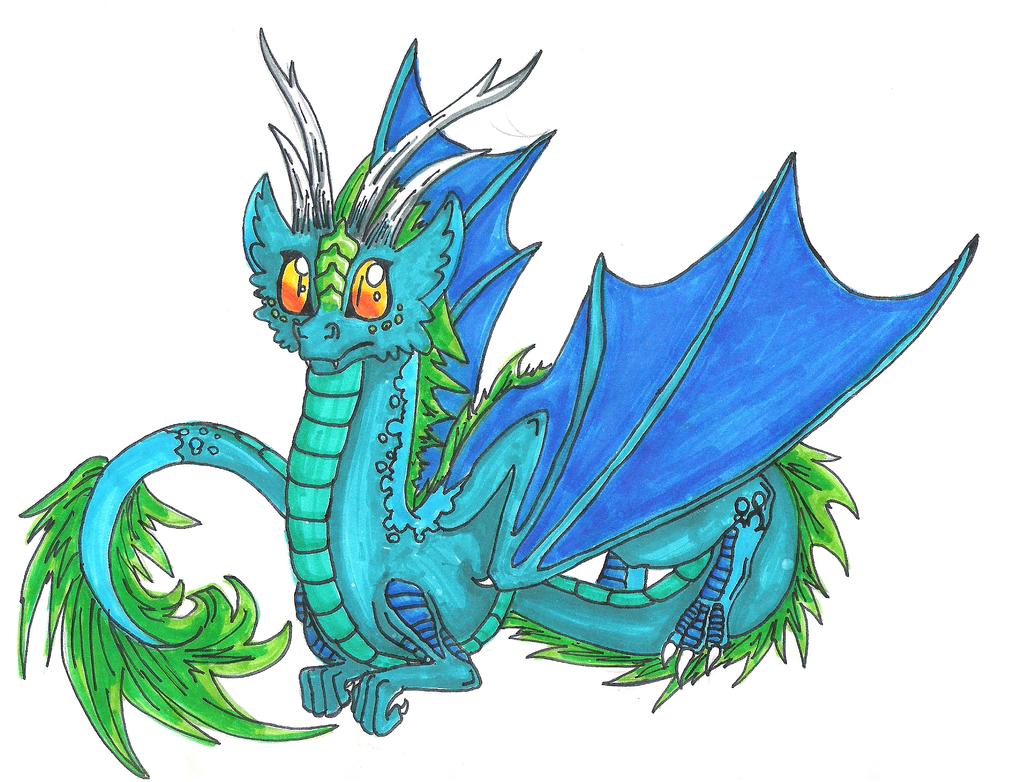Cute Dragon by ComputerDragon on DeviantArt