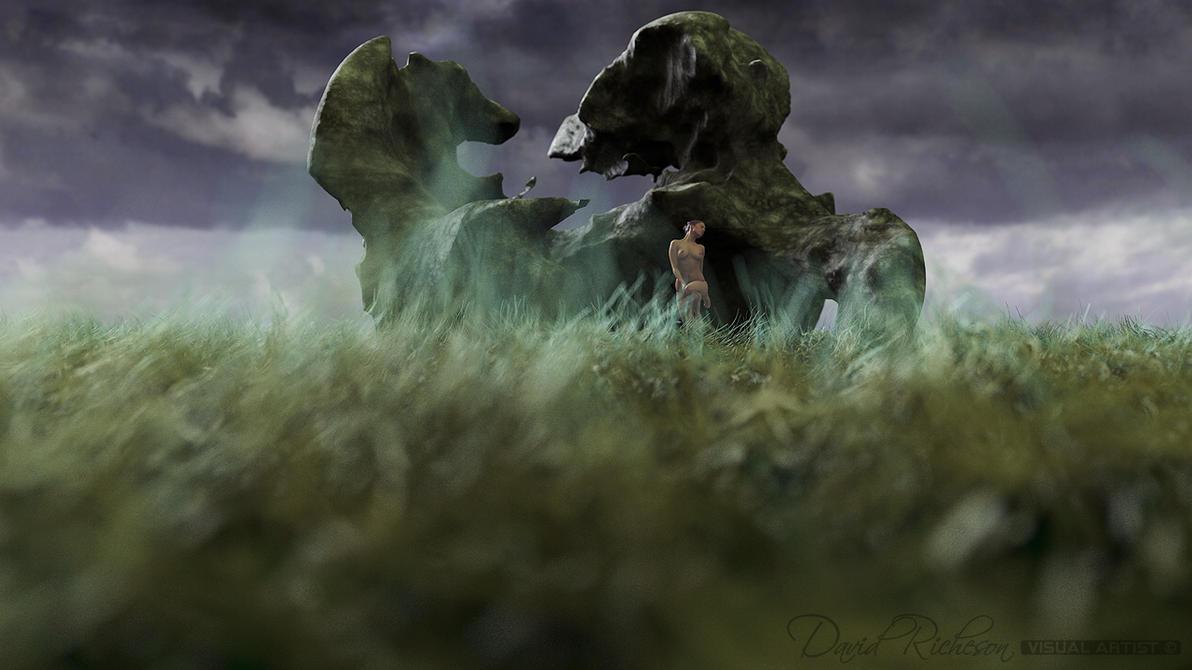 Strange Thing Grass Mossy 00012 by dcr