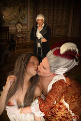 The Marquise de Merteuil by Guttersnipe-3D
