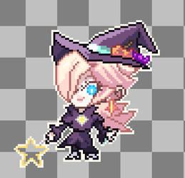 Rosalina Witch chibi sprite