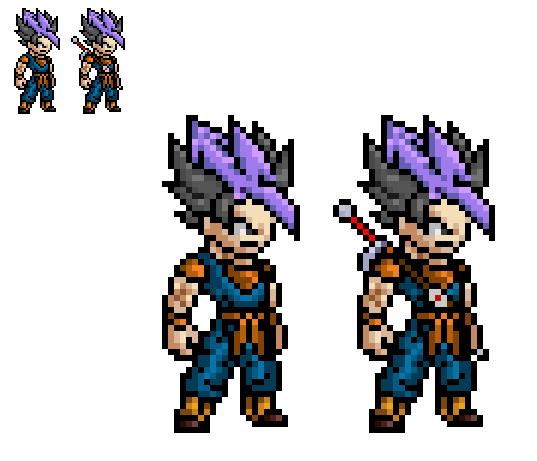 potara earring series trunks goten by paradoxalorder
