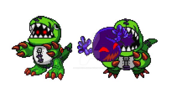 DinoToymon by ParadoxalOrder