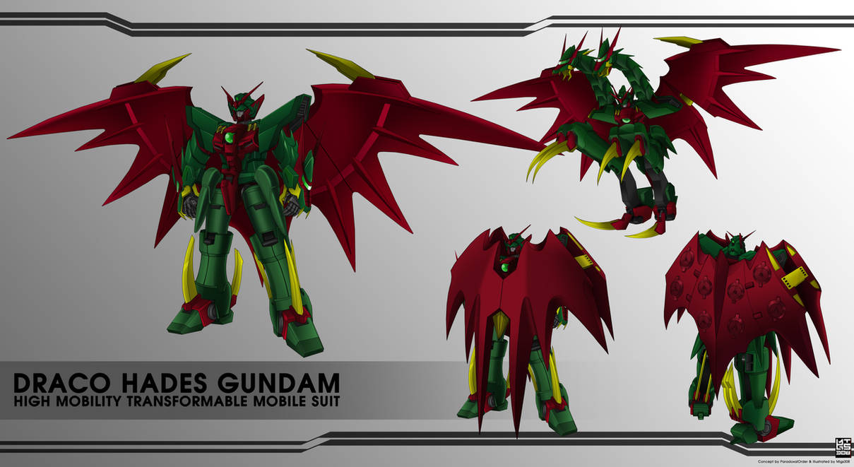 Custom Gunpla - Draco Hades