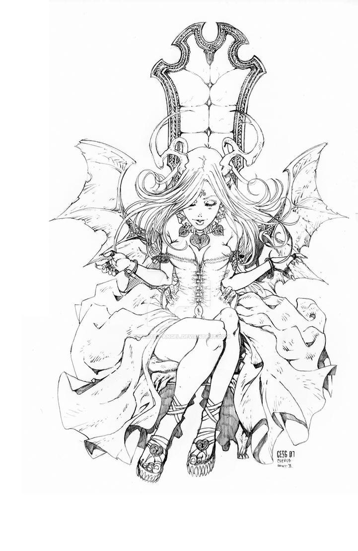 CHERUB-666 TANZ MIT MIR by defected-angel
