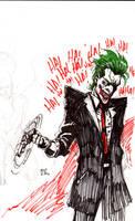 joker sketch by defected-angel