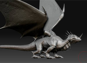 dragon sculpt