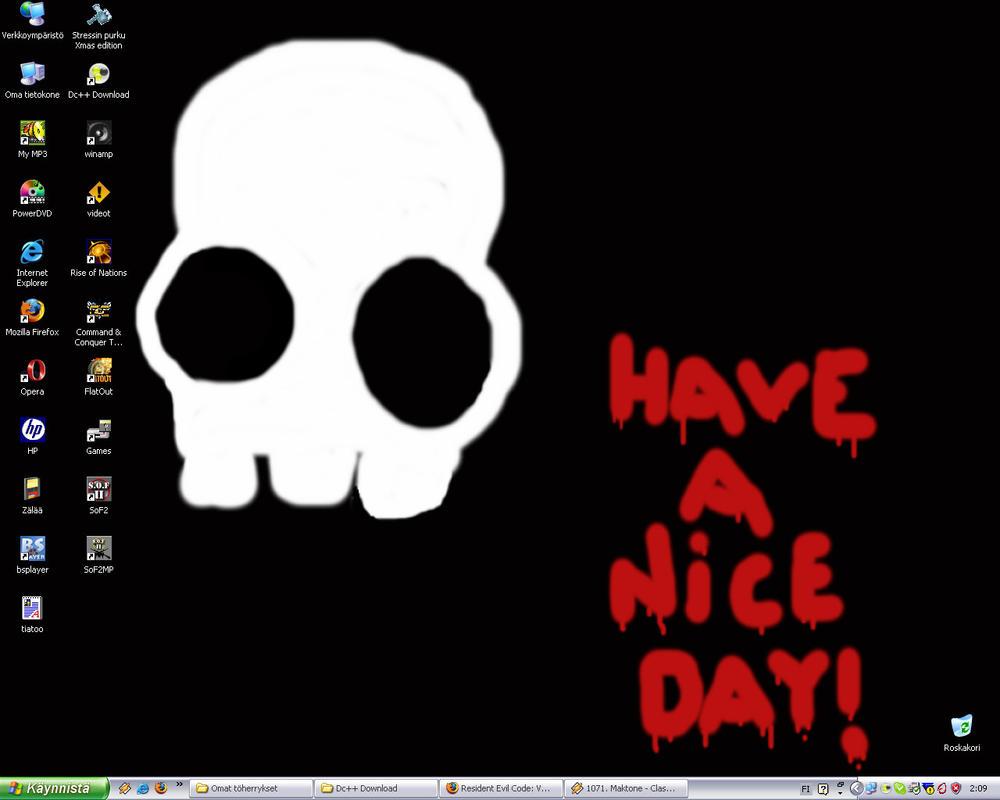 My Desktop by Colmillos