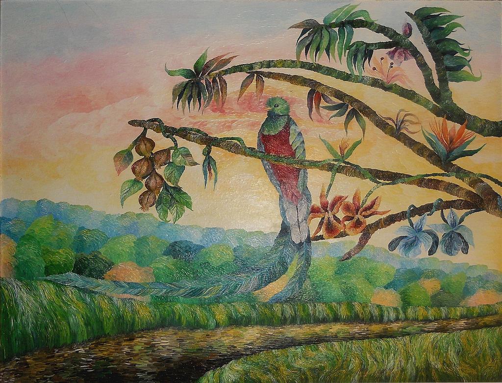 Quetzal by AnnaArt89