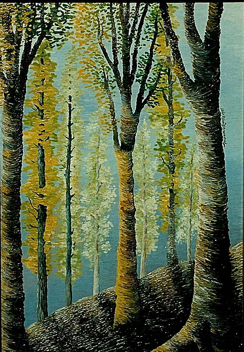 Birches by AnnaArt89