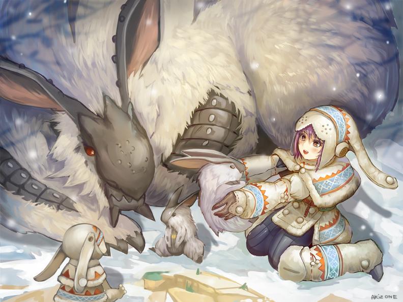 Monster Hunter by AkiZone